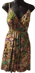 She's Cool short dress Paisley Cotton on Tradesy