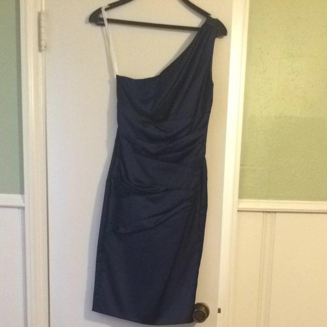 Item - Marine Satin Bridesmaid/Mob Dress Size 2 (XS)