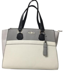 Cole Haan Tote in White Gray Black