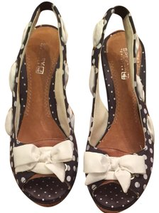 Sperry Navy Wedges
