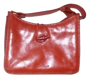 Cole Haan Lots Of Pockets High-end Bohemian Tooled Design Excellent Condition Hobo Bag