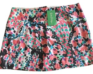 Lilly Pulitzer Mini Skirt Multi floral