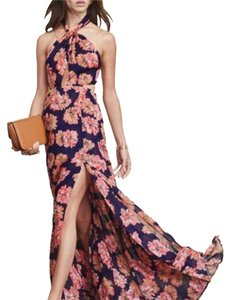 Reformation Maxi Floral Cocktail Dress