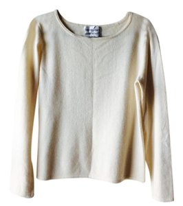 Bloomingdale's Cashmere Offwhite Sweater