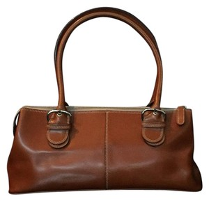 Nannini Satchel in Tan/ Light Brown