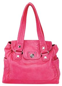 Marc by Marc Jacobs Pebbled Leather Turnlock Tote Quinn Shoulder Bag