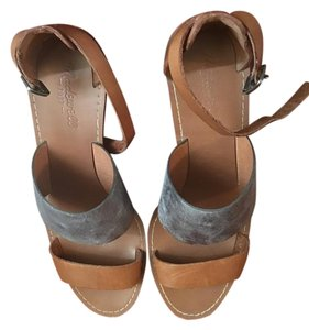 Madewell Brown / Silver Sandals