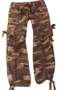 Miss Me Straight Pants Camoflage