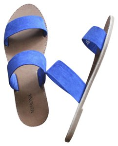 Target Suede Casual Summer Blue Sandals
