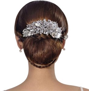 Austrian Crystal Wedding/Hair Barette