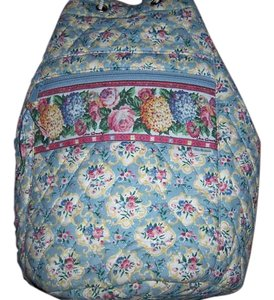Vera Bradley Cotton Slingback Drawstring Backpack