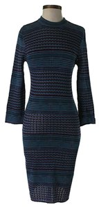 Maxi Dress by Free People Striped Knit Bodycon