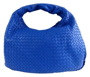 Bottega Veneta Large Flap Leather Hobo Bag
