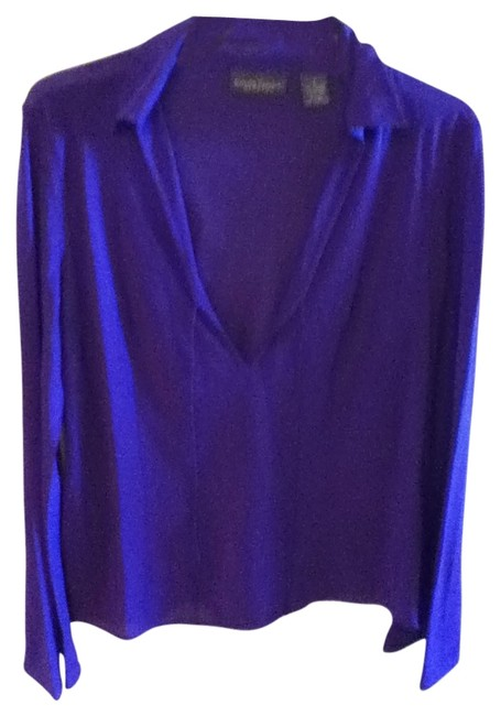 Preload https://img-static.tradesy.com/item/18481/banana-republic-purple-blouse-size-6-s-0-0-650-650.jpg