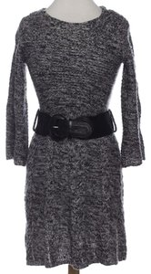 Style & Co short dress Grey Marled Stretchy Belted Belt on Tradesy