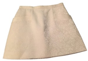 Club Monaco Mini Skirt White