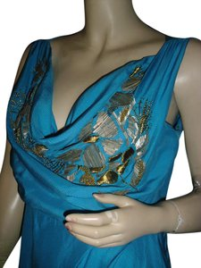 Beth Bowley Top turquoise