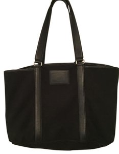 Coach Classic Weekend Workplace Black Travel Bag