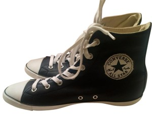 Converse High Top All Star Leather Black Athletic