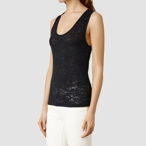 AllSaints Crop T-shirt Top