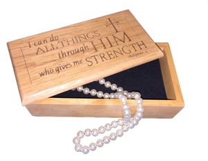 Other Keepsake Box; Phil. 4:13 - [ MissSundayBest Closet ]