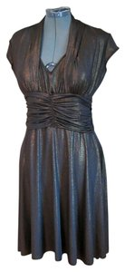 Luly K New York Vintage 40s Ruched Fitted 1940s Dress