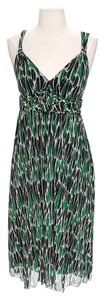 Diane von Furstenberg short dress Silk Print on Tradesy