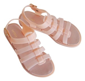 Melissa Jelly Pvc Beach Comfortable Unisex pink Sandals
