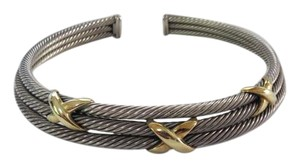 David Yurman X Collection - SS/14k Yellow Gold (3)