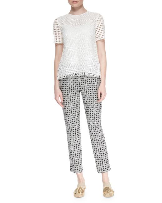 Item - Ivory-black (Nwt) Callie Cotton Jacquard Pants Size 2 (XS, 26)