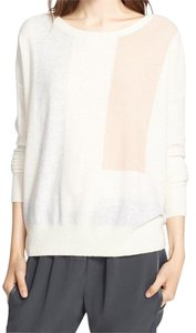 Vince Cashmere Color-blocking Sweater
