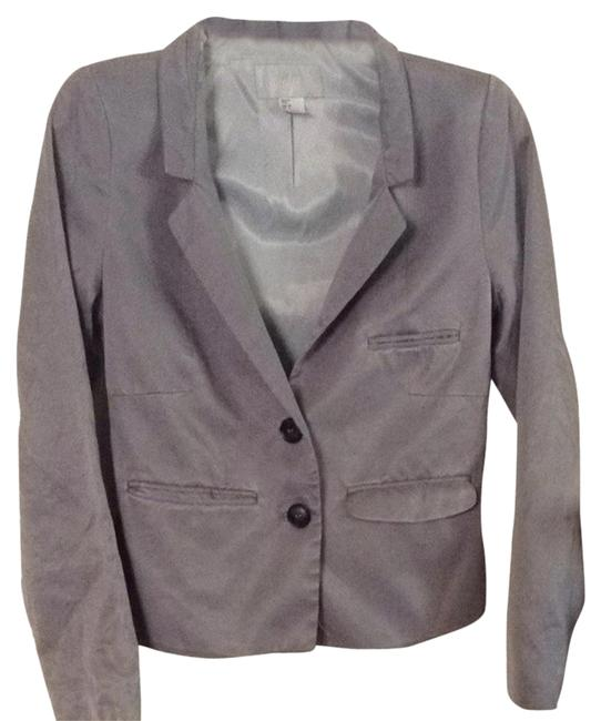 Preload https://item3.tradesy.com/images/h-and-m-gray-blazer-size-6-s-1848692-0-0.jpg?width=400&height=650