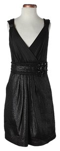 BCBGMAXAZRIA Textured Dress