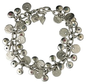 Barbara Boz for StyleNatural Lentil Chain Bracelet With Swarovski Crystals