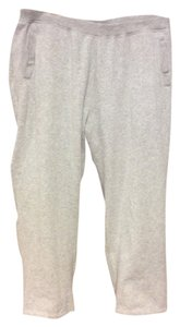 Kim Rogers Comfortable Casual Warm Athletic Pants Gray