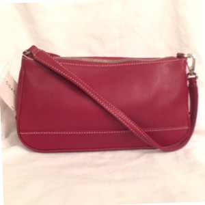 Coach Leather Wristlet New/nwt Handbag Hobo Bag