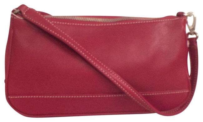 Item - New 7785 Hampton Red Silver Leather Hobo Bag