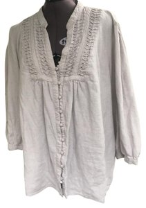 Carole Little Top Light grey