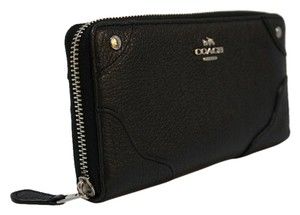 Coach Coach MICKIE ACCORDION ZIP WALLET IN GRAIN LEATHER