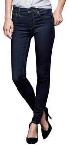 Gap 1969 High Stretch Skinny Jeans-Dark Rinse