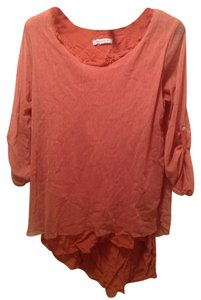 New Collection Top Burnt Orange/Brown