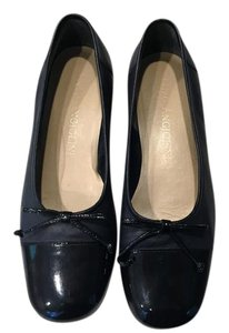 Enzo Angiolini Ballet Flat Chanel Style Navy Flats