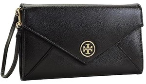 Tory Burch Tory Burch New Enevelope Black Wallet