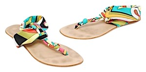 Trina Turk Multi Color Flats