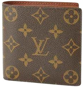 Louis Vuitton Men's Monogram Bifold Coin Wallet
