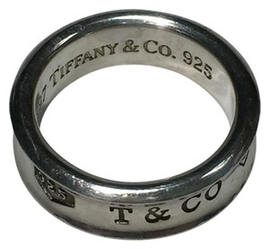 Tiffany & Co. Tiffany and Co. Sterling Silver 1837 Band Ring