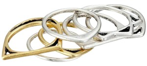 Lucky Brand Ring Set, Mixed Metal, Style 3185