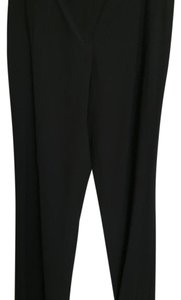 Anne Klein Flare Pants Black with tone on tone stripe