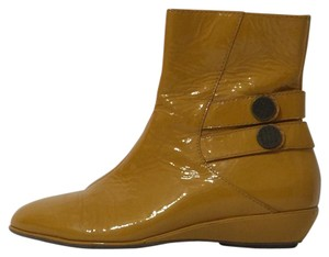 Cole Haan Gold Boots