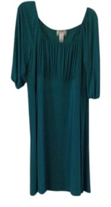 Donna Ricco short dress Nile (emerald green) on Tradesy